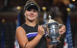 Bianca Andreescu - Kanadčanka romunskih korenin, ki je zmagala Odprto prvenstvo ZDA v tenisu