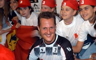 Michael Schumacher v bolnici na skrivnostnem zdravljenju
