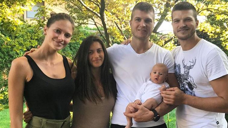 Edo Murić – srečen mož in ponosen očka spet končno v Stožicah (foto: Instagram Edo Murić)