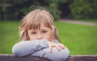 Ne spreglejte znakov depresije pri otrocih