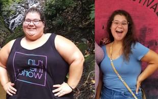 Čudežna preobrazba: Norma je shujšala za 100 kg in 18 konfekcijskih številk