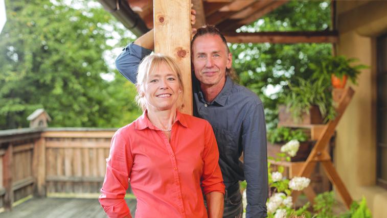 Ekološka podjetnika Metka in Frank Reiser: »Humus deževnikov je najboljši recept za rastline!« (foto: Arhiv)