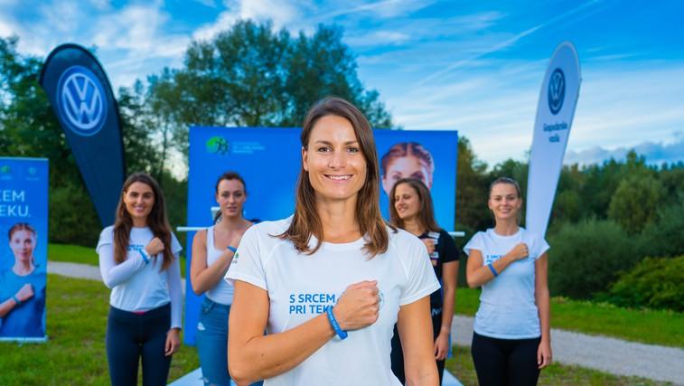 Srčni tekači združili moči za nove defibrilatorje (foto: Šimen Zupančič (promocijsko gradivo))