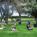 Tekaški trening (foto: Monika Skitek Mulec)