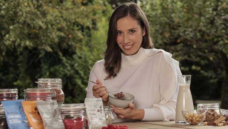 Živa Pogačnik: »Zivabowl je optimalna izbira, kadar imamo čas le za hitro malico, a načrtujemo uravnotežen obrok.« (foto: Arhiv)