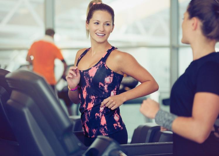 UGOTOVITE, KAKO SE BOSTE DRŽALI SISTEMA Če boste opazili, da potrebujete več motivacije, si omislite prijatelja za vadbo ali pa …