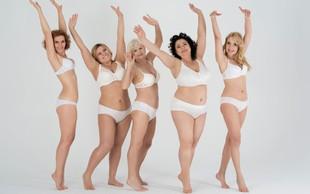 Sprejmite svoje telo in se nehajte primerjati z drugimi!