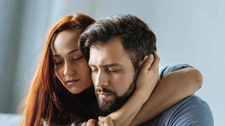 Kadar je ljubljeni človek depresiven, ni prizadet le on, ampak vsi družinski člani (foto: profimedia)