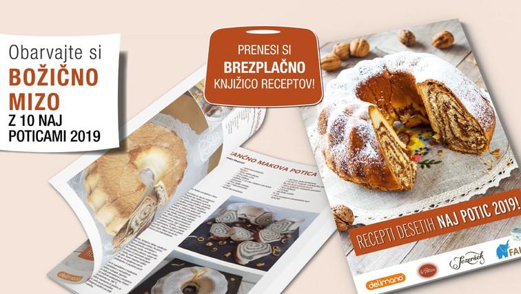 Čas je za peko potice - prenesite knjižico z 10 recepti!