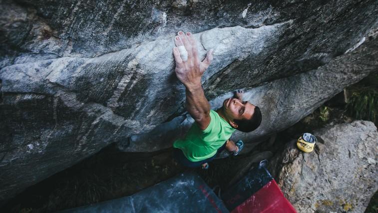 """Inštruktor plezanja Andraž Gregorčič: """"Pri plezanju se naučiš padati"""" (foto: Osebni arhiv)"""