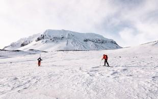 Kostelić in trije Slovenci smučali po vulkanih