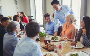 4 triki, da med prazniki ne boste vedno pod stresom zaradi hrane