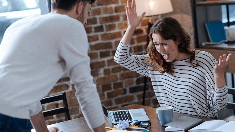 Kaj storiti, ko vas zajame jeza (in ji ne želite podleči)? (foto: profimedia)