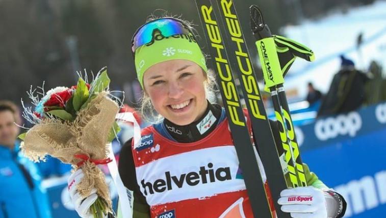 Slovenska junakinja zime - Anamarija Lampič: »Mi smo nasmejana družina.« (foto: instagram)