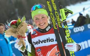 Slovenska junakinja zime - Anamarija Lampič: »Mi smo nasmejana družina.«