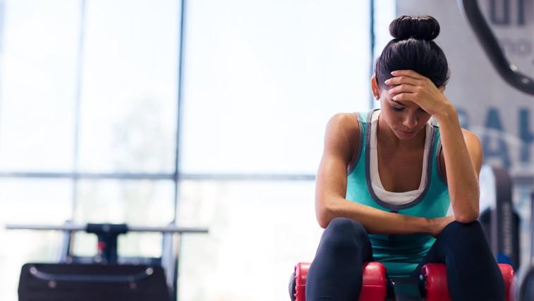 Kako začeti z vadbo, ko si popolnoma na tleh (foto: Profimedia)