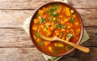 Dve slastni juhi, ki krepita in zavirata vnetja v telesu