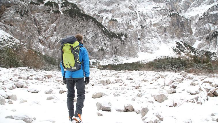 Led, svoboda in edinstveni prizori narave: ste že slišali za to vrsto plezanja? (foto: Aleksandra Saša Prelesnik)