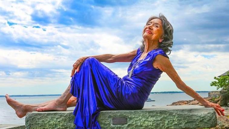 Najstarejša učiteljica joge umrla pri 101 letu (izdala je 2 skrivnosti svojega dolgega življenja) (foto: Tao Porchon Lynch Instagram)