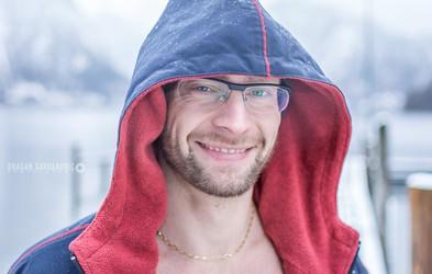 """Prvak v ledenem plavanju Luka Turk: """"Razjokal sem se, priznal, kaj sem počel in prevzel odgovornost"""""""