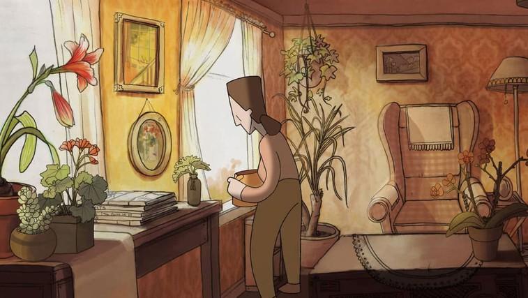 Bloom - ganljiv animirani film o depresiji in tem, kaj je potrebno, da v življenje znova vstopi svetloba (foto: Bloom | Vimeo)