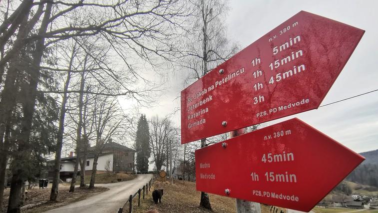 Ideja za izlet: grofovski Jeterbenk nad Medvodami - po poti roparskih vitezov (foto: DDD)