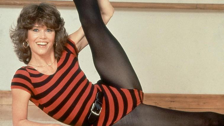 Retro vadba za dvig razpoloženja in kondicije: aerobika z Jane Fonda, trening s Cindy Crawford ... (popolni videi) (foto: Arhiv)