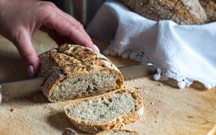 Nimate kvasa? 2 trika, kako spečete slasten kruh tudi brez tega