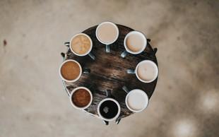 Za ljubitelje kave - spoznajte vrste espresso kave: Ristretto, affogato, mochaccino ...