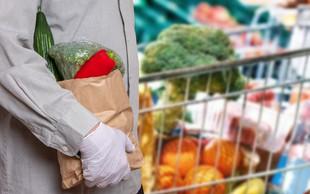 O nakupih potrošnikov v Sloveniji v obdobju trajanja virusa COVID-19