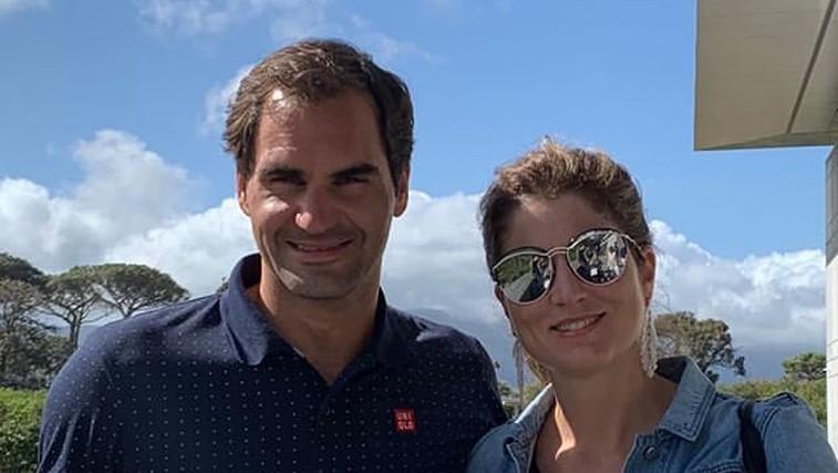 Roger Federer izzval Luko Dončića, v tenisu seveda (foto: Instagram Roger Federer)