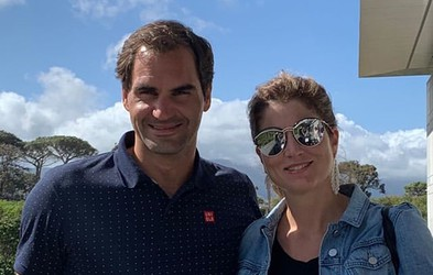 Roger Federer izzval Luko Dončića, v tenisu seveda