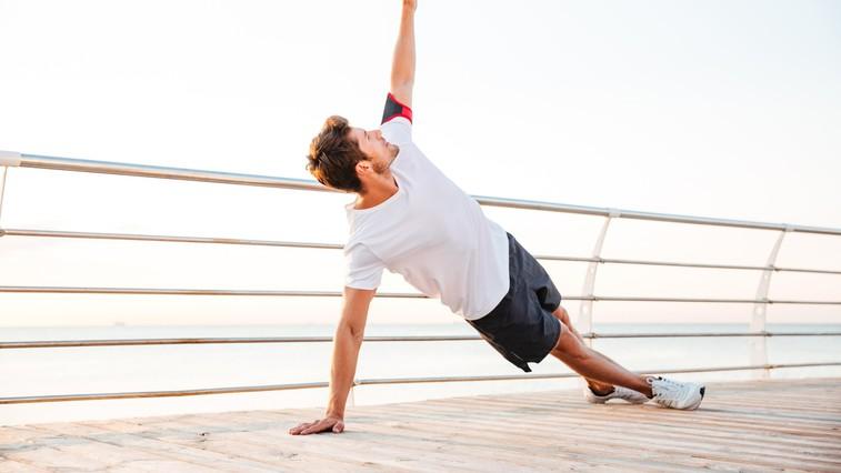 VIDEO vadba trenerjev VigorGround: Koliko nadzora imate nad telesom in kako močni ste? (foto: profimedia)