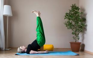 Hormonska joga - naravna terapija za ženske v srednjih letih (6 lahkih vaj za boljše počutje)