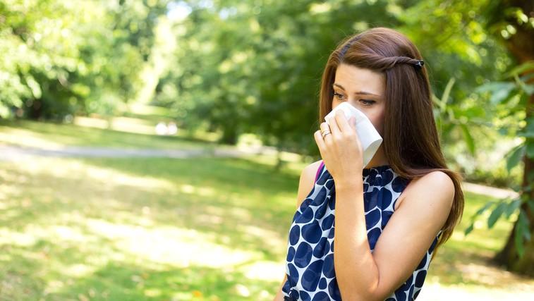 Alergija na cvetni prah je lahko povezana s potlačenimi čustvi (foto: profimedia)