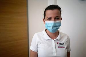 #vztrajam ambasadorka Sara Kelnarič - Veliko je preventive in pozornosti na vsak dejavnik, ki zvišuje tveganje za okužbo s koronavirusom