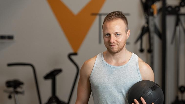 20-minutni trening za celo telo z osebnim trenerjem Vanjo Cipotom (foto: Vanja Cipot)