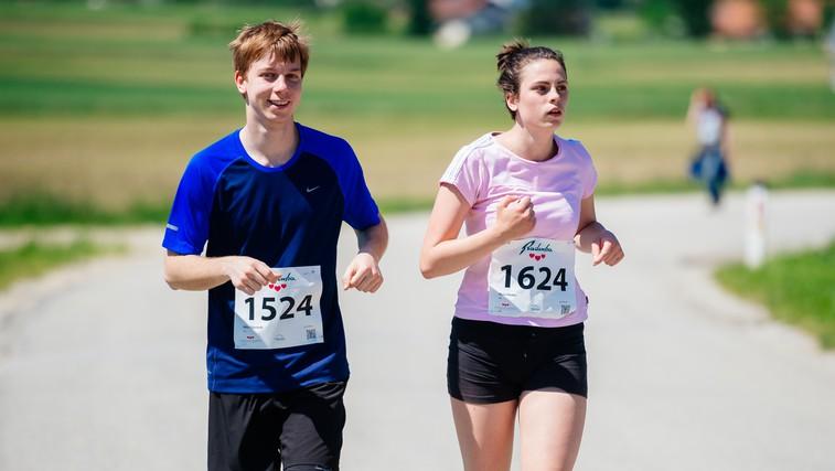 Maraton treh src v virtualni obliki - tečemo skupaj, a narazen (foto: Arhiv MTS)