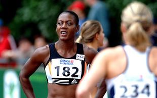 60 let jamajške Slovenke Marlene Ottey, ene najboljših atletinj vseh časov