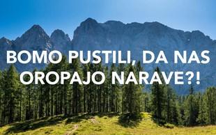 """Rok Rozman: """"Jutri nam grozi razprodaja slovenske narave!!"""""""
