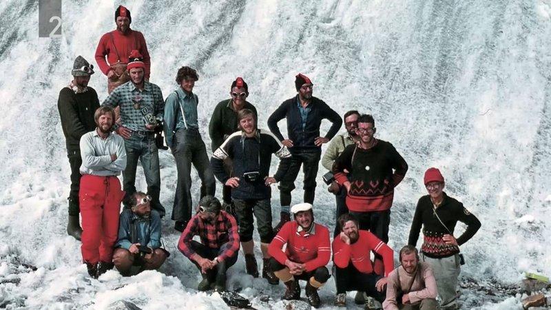 Himalajska odprava. Posnetek iz dokumentarnega filma Tone, javi se!
