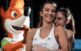 """Mia Krampl in Lučka Rakovec: """"Najboljši prijateljici, ena olimpijska vozovnica."""""""