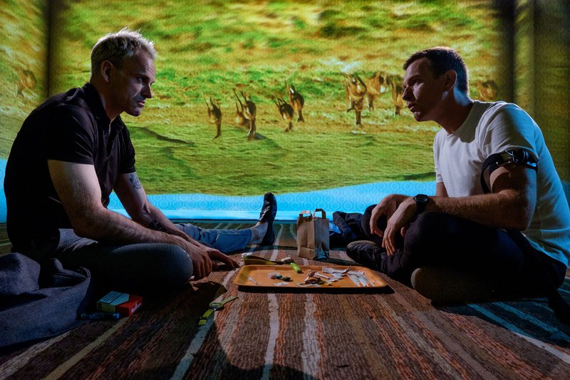 Iz filma T2 Trainspotting (Ewan McGregor in Jonny Lee Miller)