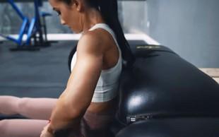 Če želite okrepiti mišice zadnjice, vključite to vajo