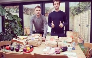 Dvojčka. Eden je izbral vegansko dieto, drugi ne. To se je zgodilo z njunimi telesi! (FOTO)