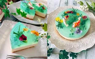 Skutina torta Monetov ribnik