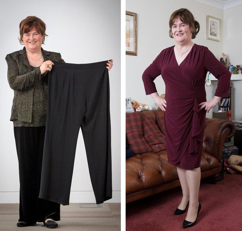 Susan Boyle leta 2016, ko je izgubla 12 kilogramov!