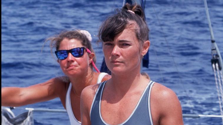 Dobre zgodbe: Tracy Edwards - skiperka prve jadrnice z izključno žensko posadko na najbolj ekstremni regati sveta (foto: profimedia)
