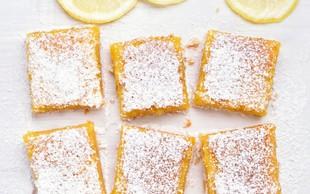 Recept: osvežilne in slastne limonine rezine
