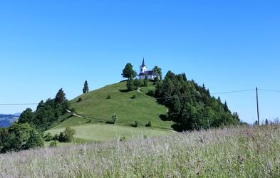 Ideja za izlet: Sveti Jakob (806 metrov)
